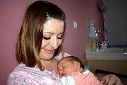 Ela Všetičková těší rodiče Evu a Jana ze Sopotnice. Holčička se narodila 21. 11. v 0.07 hodin, kdy vážila 3,240 kg