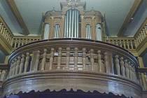Varhany v kostele sv. Matouše v Červené Vodě.