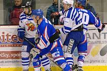 Kohouti nestačili na Slovan, prohráli 4:7.