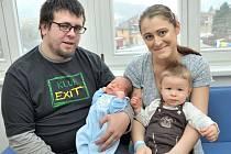 Matyáš Kalášek je po Tadeáškovi druhým synem Lucie a Martina z Ústí nad Orlicí. Chlapeček se narodil 3. prosince v 1.01 hodin a vážil 4,070 kg.