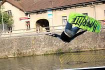 Wake The River winch jam se minulý víkend konal na Tiché Orlici v Chocni.