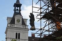 Rekonstrukce Mariánského sloupu v Chocni