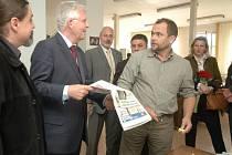 Redakci Orlického deníku navštívili hlavní akcionáři a členové představenstva vydavatelství VLTAVA-LABE-PRESS, a.s.