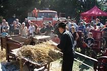3. Setkání historické a současné zemědělské techniky v Bohousové.