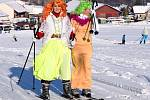 Maškarní na lyžích v Letohradu - Kunčicích.