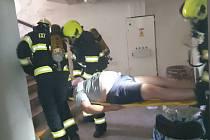 Další fiktivní akce jednotek požární ochrany proběhla tentokrát v úterý 22. června ve Vysokém Mýtě.