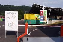 Sběrný dvůr v Ústí nad Orlicí.