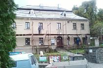 Rekonstruovaná budova jednoty bratské v Ústí nad Orlicí.