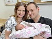 Vanessa Dušková je prvním dítětem Anety a Bohumila z Dolní Dobrouče. Světlo světa spatřila 11. 10. ve 3.01, kdy vážila 2,50 kg.