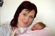 Adéla Martincová bude doma s rodiči Martinou a Liborem a bráškou Tomáškem v Českých Libchavách. Světlo světa spatřila 14. 3. ve 22.25 hodin, kdy vážila 4,05 kg.
