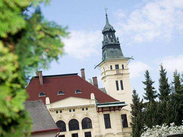 Hernychova vila Ústí nad Orlicí.