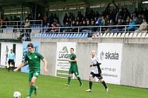Česká fotbalová liga: TJ Jiskra Ústí nad Orlicí - SK Polaban Nymburk.