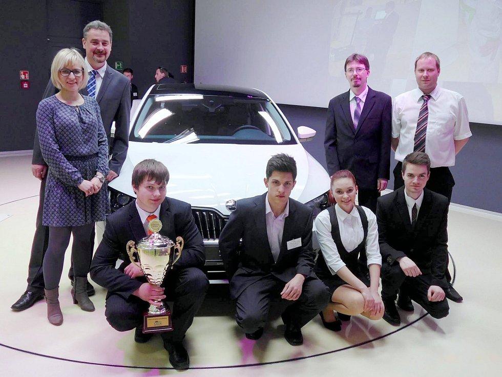 Mladí autoopraváři z Ústí opět patří mezi nejlepší!