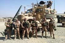 Armádní poručík Michal Doleček byl na misi v Afghánistánu.