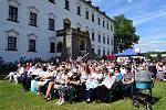 Z koncertu k 60. výročí ZUŠ Alfonse Muchy, který zakončil 28. ročník Mezinárodního hudebního festivalu Letohrad 2017.