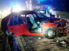 Nehoda u Mistrovic.