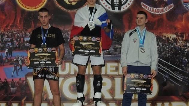 Kickboxer Martin Viktorin se stal v Itálii mistrem světa.