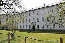 Areál zrušeného výchovného ústavu v Králíkách.