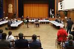 Ustavující zastupitelstvo v Ústí nad Orlicí.