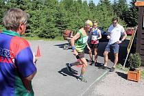 Běh na Kozlovský kopec v roce 2021.