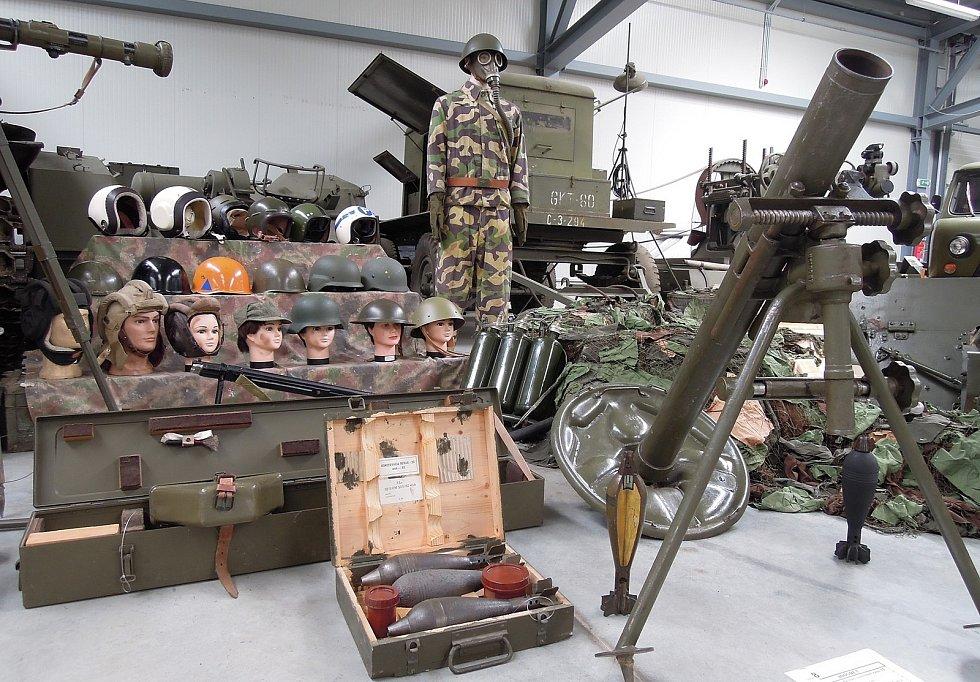 Část doplněné expozice věnované historii ČSLA. Zdroj: Vojenské muzeum Králíky