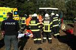 V Jablonném nad Orlicí došlo na poli k vážnému zranění chlapce.