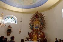 V kapli Panny Marie Pomocné na Horách v České Třebové byla restaurována původní výmalba stropu.