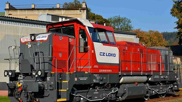 Lokomotiva CZ Loko řady 741.7.
