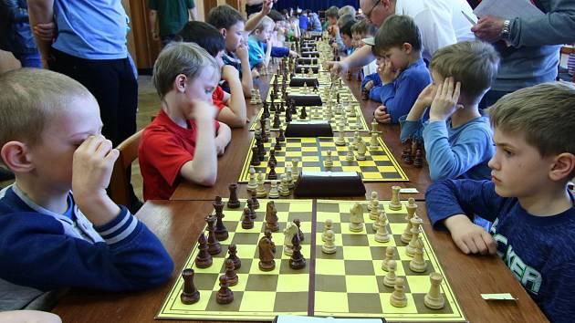 Orlická šachovnice a Krajský přebor dětí do osmi let v šachu.