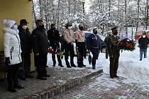 Město Žamberk si vsobotu 16. ledna 2021 připomnělo 76. výročí tragického konce zpravodajské skupiny Barium.