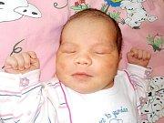 Anežka Víchová je prvorozená holčička Barbory a Pavla z Chocně. Narodila se 13. 5. v 11.42 hodin a vážila 4200 g.