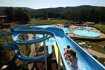 Aquapark v Ústí nad Orlicí.