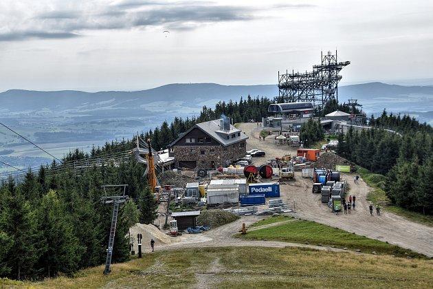 Dolní Morava bude mít novou atrakci. USlaměnky vzniká visutý most.