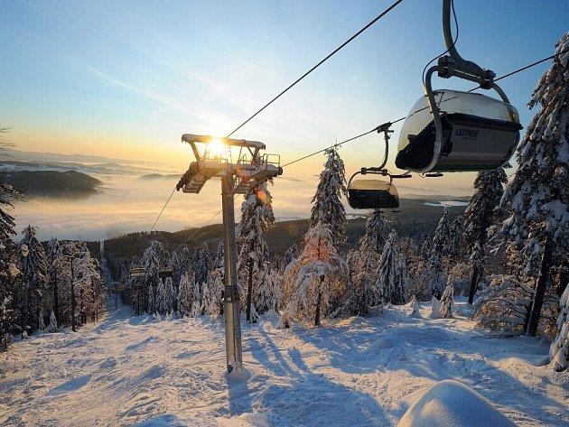 Skipark Červená Voda. Ilustrační foto.