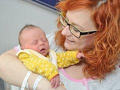 Josefína Bajerová, tak se jmenuje první dcera Eriky a Tomáše z Horek. Když se 27. března v 18.09 hodin narodila, vážila 2,94 kg.