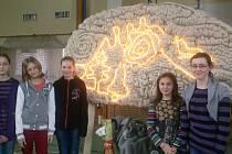 V brandýské základní škole měli akci Používám mozek