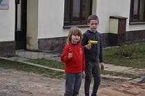 Řehtání se zúčastnil Stáňa se svou sestrou Magdálenkou