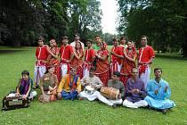 Indický soubor Spandan.