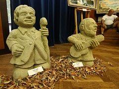 Výstava výtvarného umění potrvá v ústeckém kulturním domě do 9. září.
