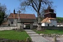Semanín, kostel.