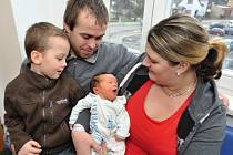 Štěpán Němec je po Miloslavovi druhým synem Květy a Miloslava z Podlesí-Olešné. Po porodu 16. ledna v 18.41 vážil 4,08 kg.