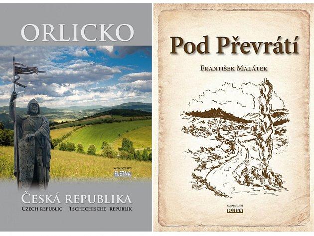 Nakladatelství Flétna z Orlického Podhůří představuje dvě předvánoční knižní novinky: Pod Převrátí a Orlicko. Zakoupíte je u všech knihkupců v regionu nebo na www.fletna.cz.