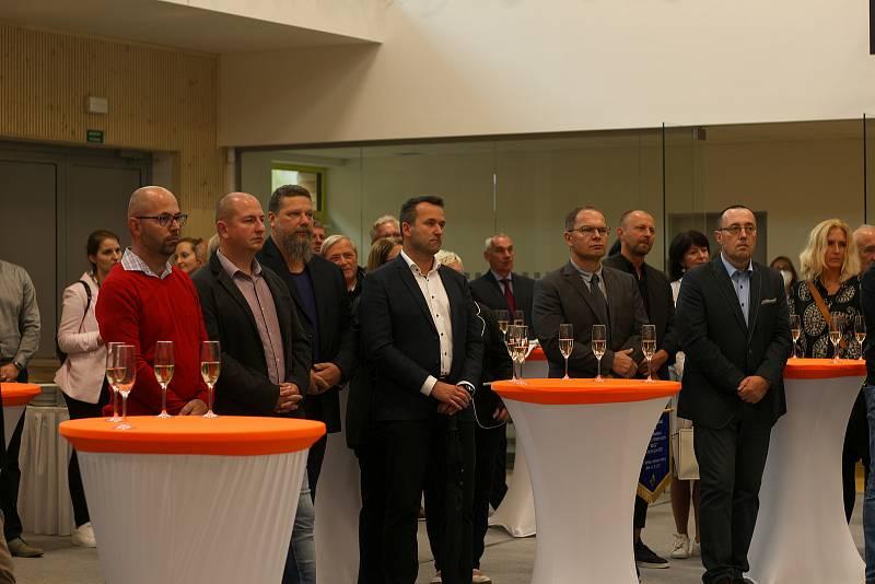 Slavnostní otevření proběhlo v pátek 17. září.