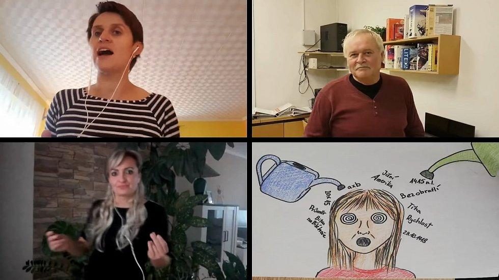 Pedagogové ze ZŠ Parník v České Třebové natočili skladbu Učíme dál o nelehké distanční výuce za koronaviru