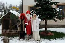 Advent v Albrechticích u Lanškrouna.