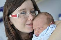 Jakub dělá radost rodičům Kateřině Černé a Miloslavu Chládkovi z Vysokého Mýta. Když se 14. ledna ve 2.55 hodin narodil, vážil 3,4 kg.
