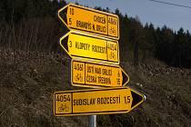 Omezení provozu na cyklostezkách.