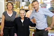 Pavel Tacl se svou manželkou Drahomírou v Novém dvoře v Letohradu přivítali i Madeleine Albrightovou.