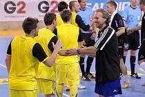 Trenér Martin Brychta povede v nové sezoně futsalisty Nejzbachu.