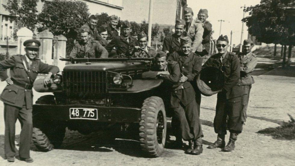 Euforie z konce války zastihla Vasila Timkoviče u Vsetína.